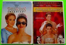 Disney DVD Lot - The Princess Diaries 1 & 2 (Used) Full Screen Versions