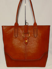 Frye Leather Ring Tote - Cognac (DB320)