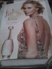 Affiche parfum 120X170 J'ADORE eau lumière  de  DIOR   avec CHARLIZE THERON