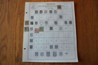 B07 Lot of Philippines Stamps on 7 Minkus binder Pages