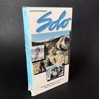 SOLO VHS Movie Randy Hamilton Sandy Kearns Family Plane Crash Rare Majestic