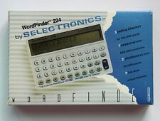 WordFinder 224 by Selectronics - Electronic Dictionary, Thesaurus, Speller