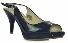 Nine West Sharina Women Ladies Dress Pump Shoes Heels Sling back Silver Size 6 M