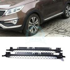 Side step fit for KIA Sportage R 2010-2016 Running Board Nerf Bar Protector