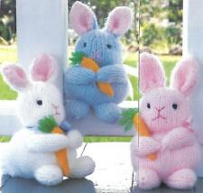 *Baby Bunnies knitting PATTERN INSTRUCTIONS