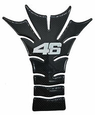 "7.5"" Real Carbon Fiber Fuel Gas Tank Protector Pad For Yamaha Ducati The Doctor"