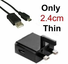 UK FULL SAFETY CE CERTIFIED 3 PN UK MAINS HOME CHARGER FOR GARMIN NUVI  1390T