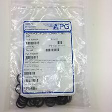 LOTS OF  60  APG FLUOROELASTOMER 60 DUROMETER O RING GASKET