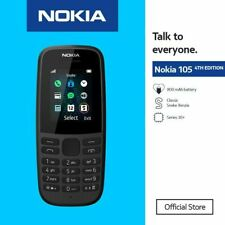 New Latest Nokia 105 Unlocked Sim Free Mobile Phone Cheap Basic UK