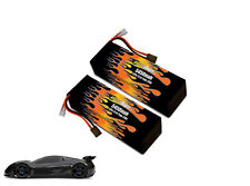 Maxamps Hard Case LiPo 5450 3S 11.1v XO-1 Pair