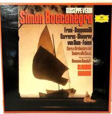 Verdi Simon Boccanegra Claudio Abbado 3LP BOX Grammophon 2709071