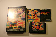 Sega Mega Drive Systems WORLD OF ILLUSION STARRING  MICKEY MOUSE & DONALD DUCK
