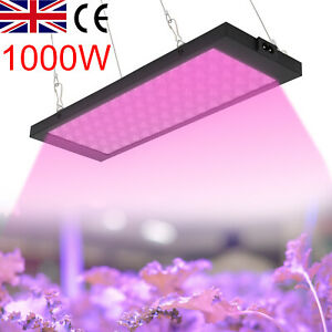 LED Grow Light Lamp Full Spectrum for Indoor Plant Veg Flower Hydroponic 1000W
