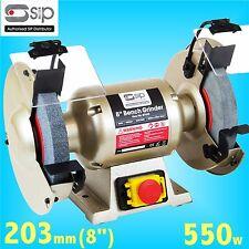 SIP 07628 Professional 203mm 8 Bench Grinder 240v grindstone grinding wheel