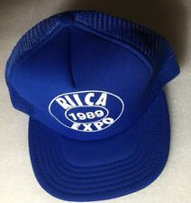UNUSED Vintage NOS 1989 RHODE ISLAND Independent Constables EXPO Trucker Hat USA