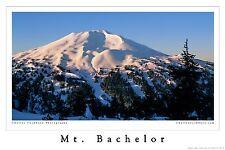 Mt. Bachelor Poster print