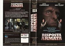 RISPOSTA ARMATA (1988) VHS