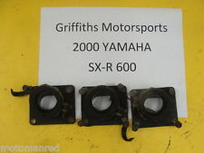 00 YAMAHA SXR 600 700 500 SX-R VMAX? 98 99 01 INTAKE CARB BOOT SET BOOTS 3 8CH