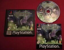 Syphon Filter PS1 PAL UK NO Tombi Suikoden Metal Gear Solid Clock Tower PS3 PS4