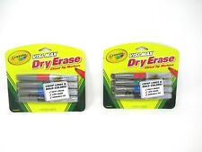Crayola Dry Erase Markers Visimax Chisel Tip 2 Packs 4 Each  8 Total