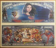 Super Girl Million Dollar Bill ( DC Comics )