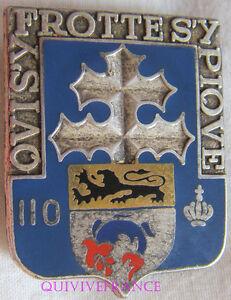 IN8685 - INSIGNE 110° Régiment d'Infanterie
