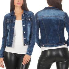 5646 Coole Damen Jeansjacke Damenjacke Jeans Jacke Kurze Jacke Denim Jacke 85f35d16a4