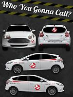 Ghostbusters ECTO Custom Vinyl Decal Sticker Kit Vinyl Car - Custom vinyl car decals canada