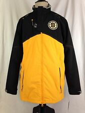 Boston Bruins Mens Jacket L Size Hockey Reebok Center Ice Kinetic Fit NHL NWT