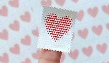 100 USPS Made of Hearts Forever Stamps 5 Panes of 20 First Class Mail Postage