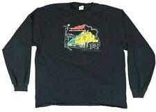 Vintage Santa Fe Southern Railway Long Sleeve Shirt Mens Size 2XL