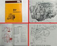 Fiat-Allis Fiatallis 8215 Motor Werkstatthandbuch Reparaturanleitung 5/1982