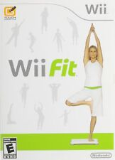 Wii FIT GAME ONLY NINTENDO Wii Fitness Workout Exercise Game