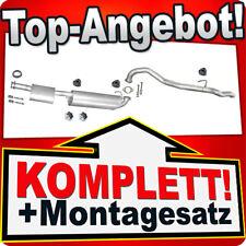Auspuff OPEL FRONTERA A SPORT 2.0 4x4 SWB 2-TUREN 115PS 95-98 Auspuffanlage 829