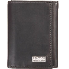 Kenneth Cole Reaction Wallet Men's Nappa Leather Extra-Capacity Tri-Fold Wallet