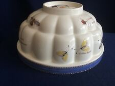 Wedgwood Sarah's Garden blue jelly mould