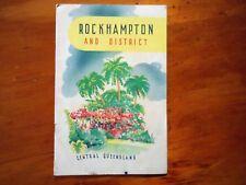 Rockhampton and District Central Queensland.