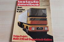107736) Neoplan N 209 - Datsun 180 B Kombi - Lastauto Omnibus 12/1977