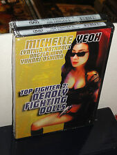 Top Fighter 2: Deadly Fighting Dolls (DVD) Cynthia Rothrock, Angela Mao, NEW!