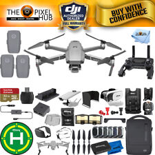 DJI Mavic 2 Pro Fly More Combo W/ 20 Piece Everything You Need Accessory Bundle