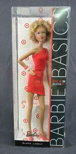 Barbie Basics Model 08 Collection RED Doll AA V0336 2010 Mattel