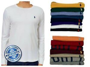 Boys Ex Ralph Lauren long sleeve t shirt top 2 3 4 5 6 7 8 10 12 14 16 Genuine