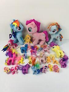 My Little Pony Soft Toy Large Small Plush Pony Hasbro Teddy Bundle (24 Pieces)