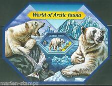 SOLOMON ISLANDS 2014 WORLD OF ARCTIC FAUNA SOUVENIR SHEET  MINT  NH