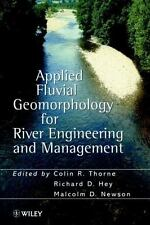 Applied Fluvial Geomorphology for River Engineering and Management (1998,...