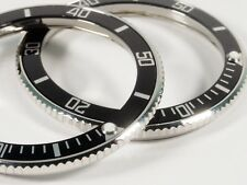 Vostok Bezel for Amphibian and Komandirskie Watch with Aluminum Black Insert