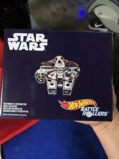 SDCC 2018 - Mattel Star Wars Hot Wheels Porg Millennium Falcon Battle Roller Car