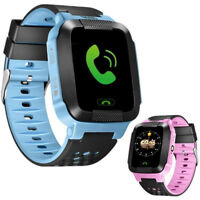 Anti-lost Kids Safe GPS TrackerSOS Call GSM SmartWatch Phone For Android IOSGNCA