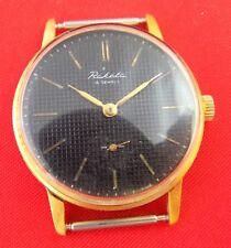 Wrist watch Raketa mechanical GOLD PLATED CASE AU Soviet vintage USSR