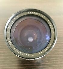 【SUPER RARE】PARIS ANGENIEUX 28MM F/3.5 R11 RETROFOCUS M42 SCREW MOUNT ~ LÖÖK